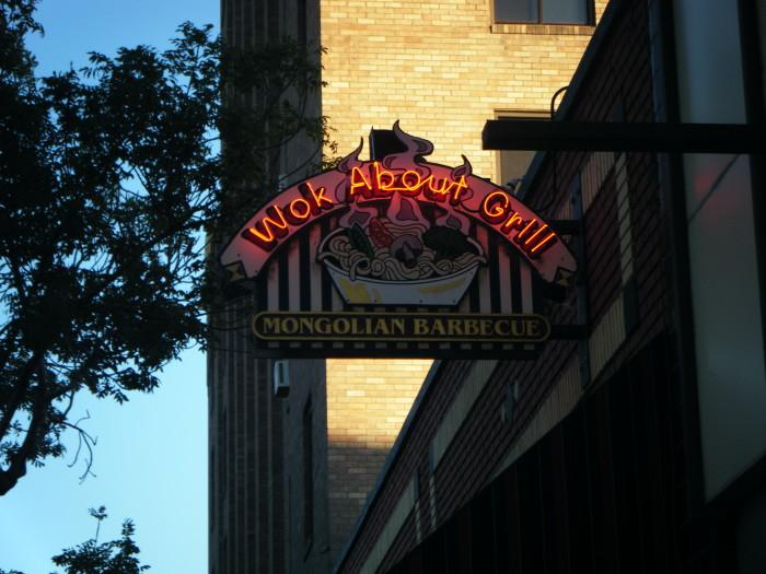 8. Wok About Grill, Leavenworth and Wenatchee