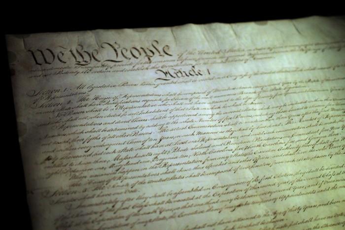 10. The 13th Amendment.