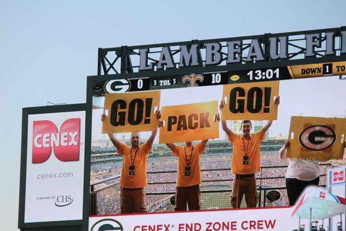 2. The Packers are never, ever good again or leave the NFL.