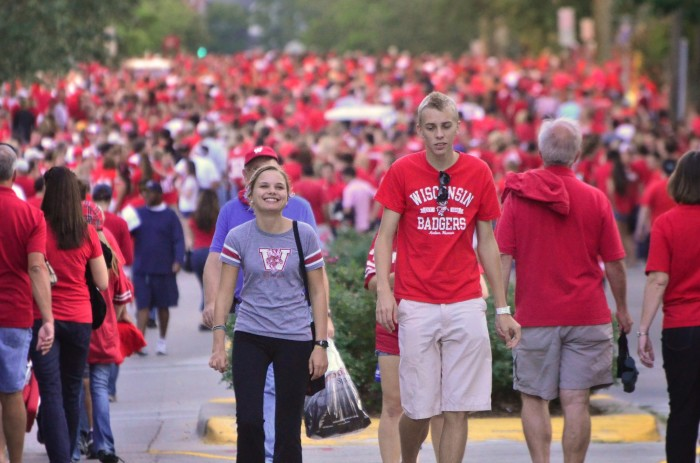 8. People turn their backs on Wisconsin and leave.