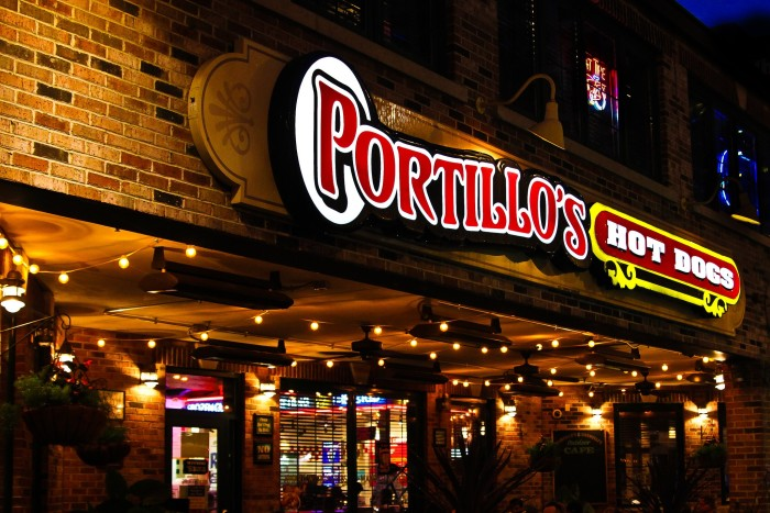 7. Portillo's takes all of their restaurants to another state.