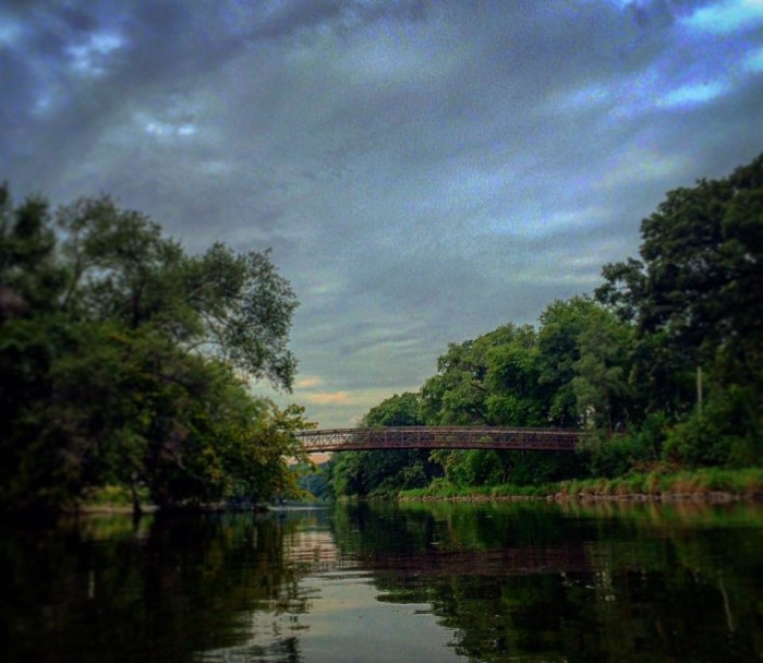 7. I really appreciate this shot of a bridge in Shorewood that Troy captured.