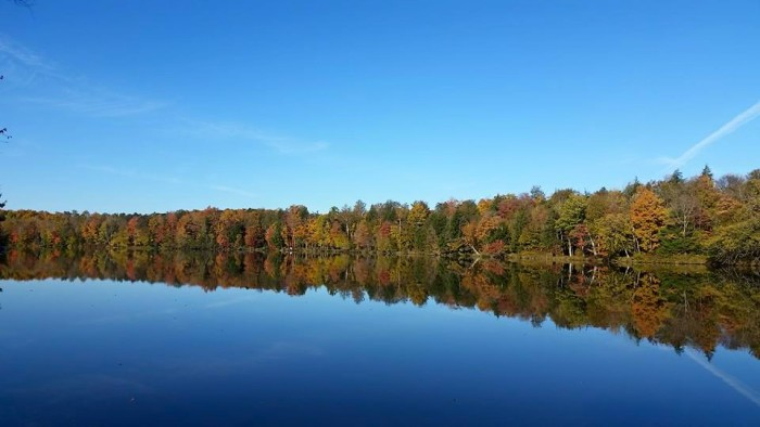 2. David captured this beautiful mirror shot of the Wisconsin River near Tomahawk.