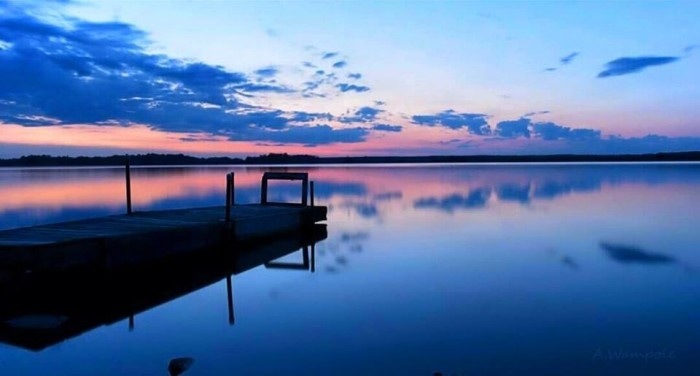 13. Adam's photography of a calm summer night in Stevens Point is already making me nostalgic for summer.