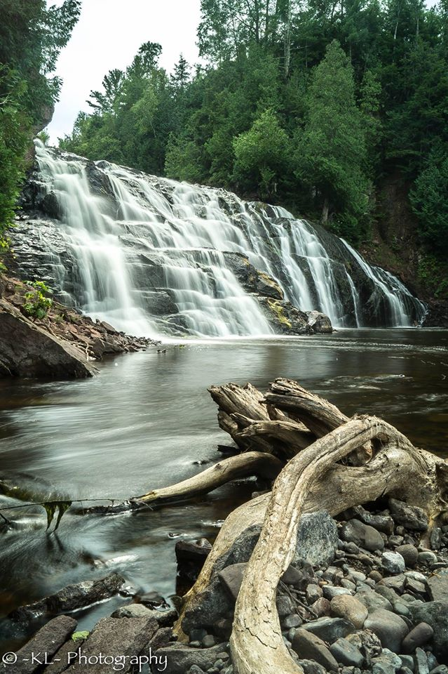 17. What a great shot of Lower Falls, Potato River.