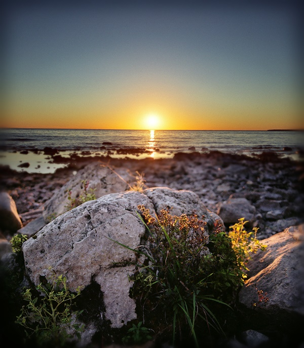 15. What a fantastic shot taken at sunset at Nelson Point, Peninsula State Park.