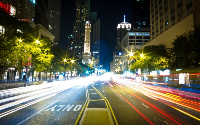 4. Who knew traffic on Michigan Avenue could look this great?