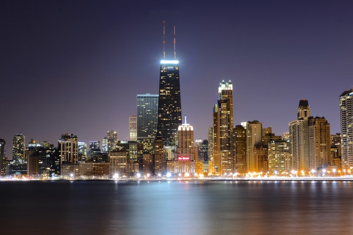 14. Again, another great shot of the Chicago skyline.
