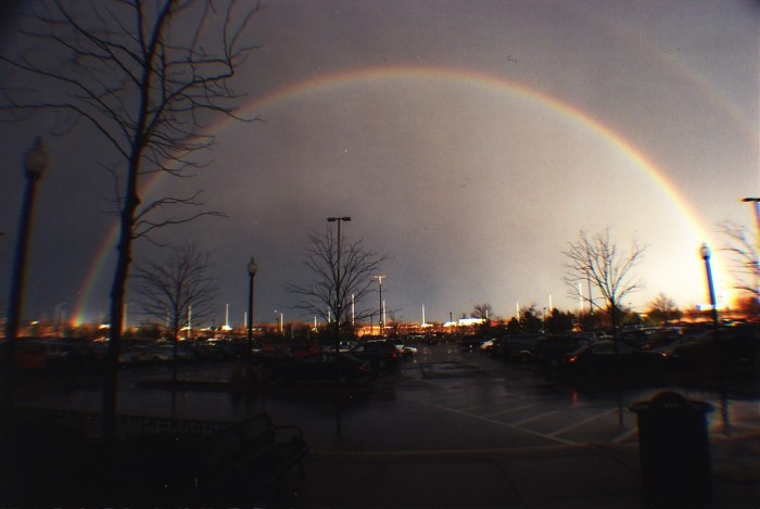 4. Have you ever seen a rainbow where you can see it in full?