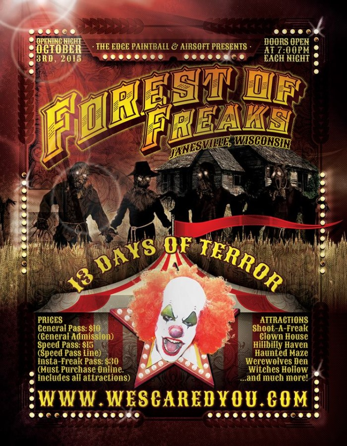 7. Forest of Freaks