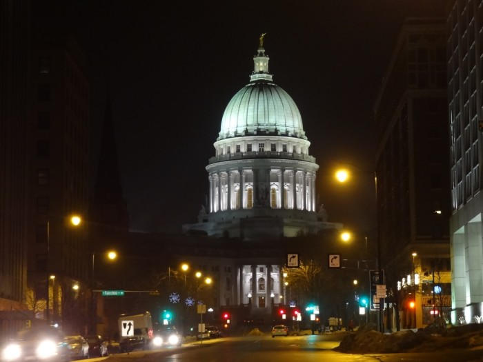 7. Madison has not always been the capital of Wisconsin.