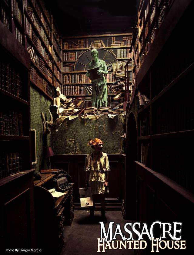 2. The Massacre Haunted House