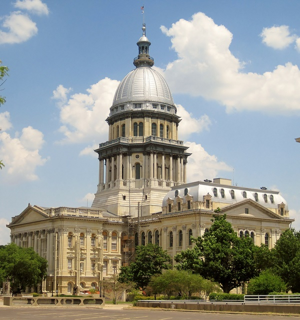 4. Springfield was not always the capital of Illinois.