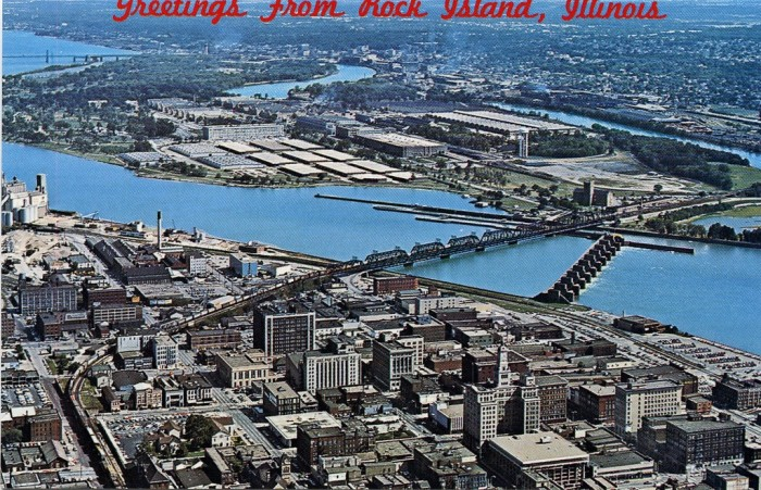 9. Rock Island used to have a big ol' prison camp.