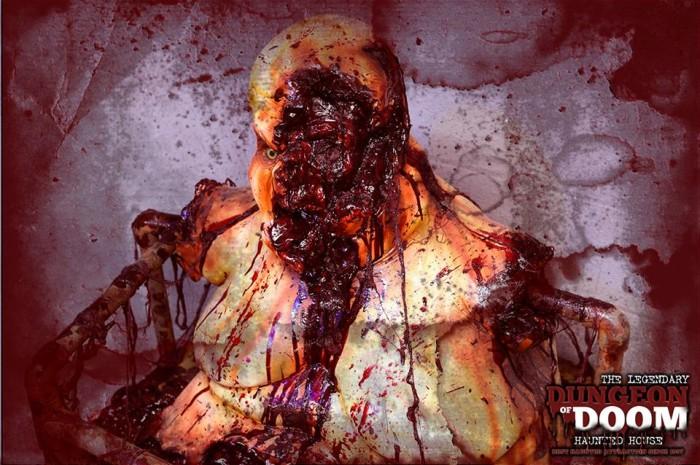 3. Dungeon of Doom Haunted House