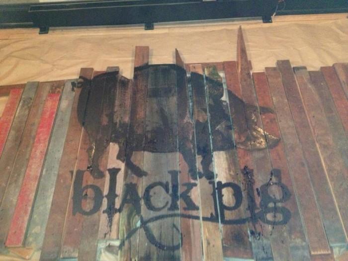 7. Black Pig