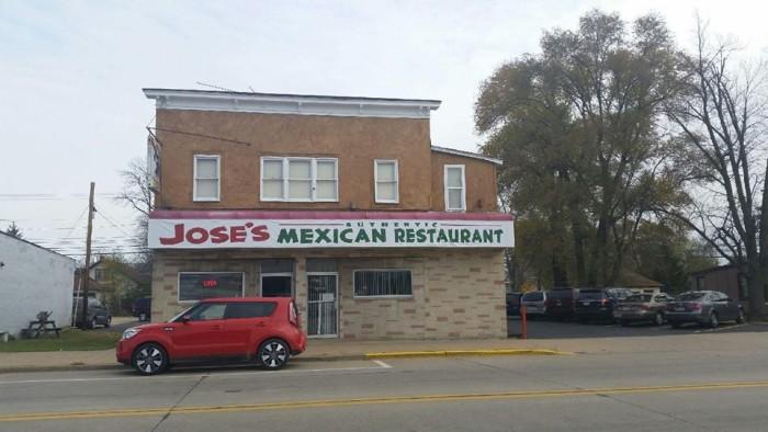 2. Jose's Authentic Mexican Restaurant
