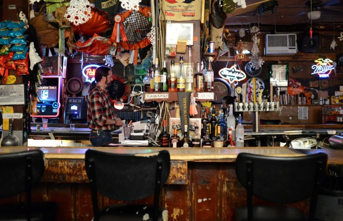 3. When of age, the town bars were the best.