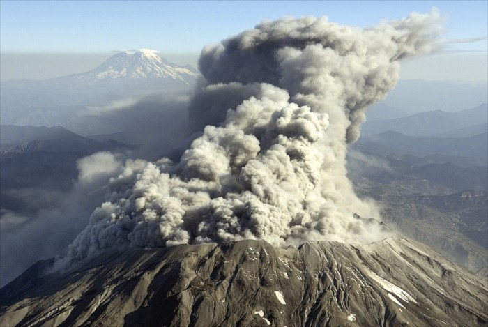 8. Speaking of wood - when Mount St. Helens erupted in 1980, there was enough timber blown down to build 300,000 two-bedroom homes.