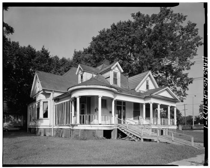 6. O'Shee House, 1606 Fourth Street, Alexandria, LA