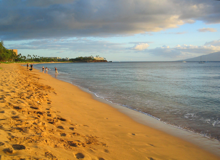 1) Instead of heading to Ka'anapali Beach...