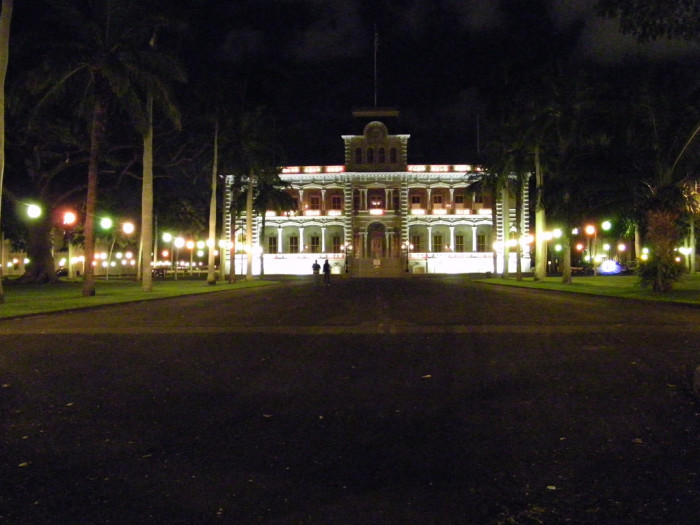 1) Iolani Palace, the only royal palace on United States soil, was illuminated with electric lights four years before the White House in Washington D.C.