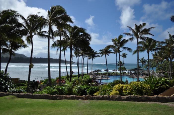 1) Turtle Bay Resort, Oahu