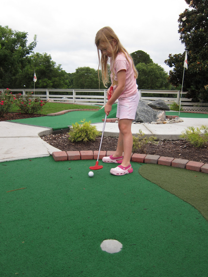 1) Where would ALL first dates be without mini golf?