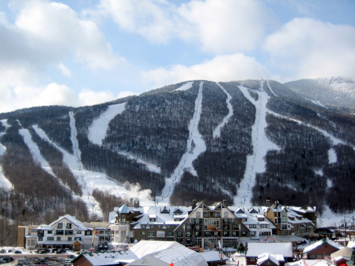 1.Skiing.