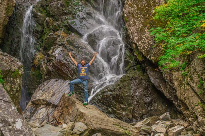 1. Angel Falls, Franklin County