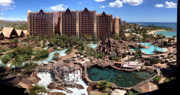 10) Aulani: A Disney Resort & Spa, Oahu