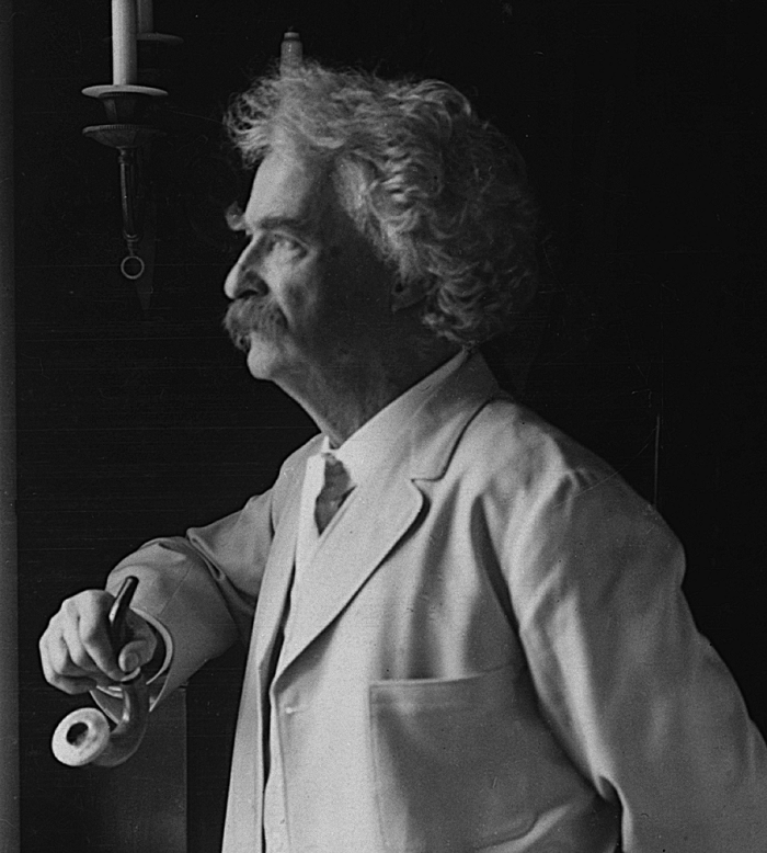 10.	Why are there so many Mark Twain related things?