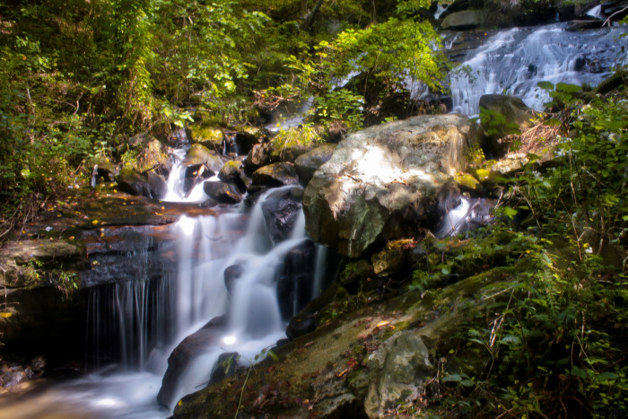 5. The lower cascade of Amicalola falls, at the end of the trail. - 418 Amicalola Falls Lodge Rd, Dawsonville, GA 30534