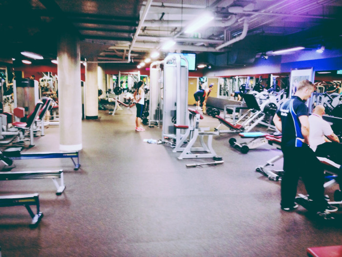 6. But crap! My gym is going to be so crowded in January.