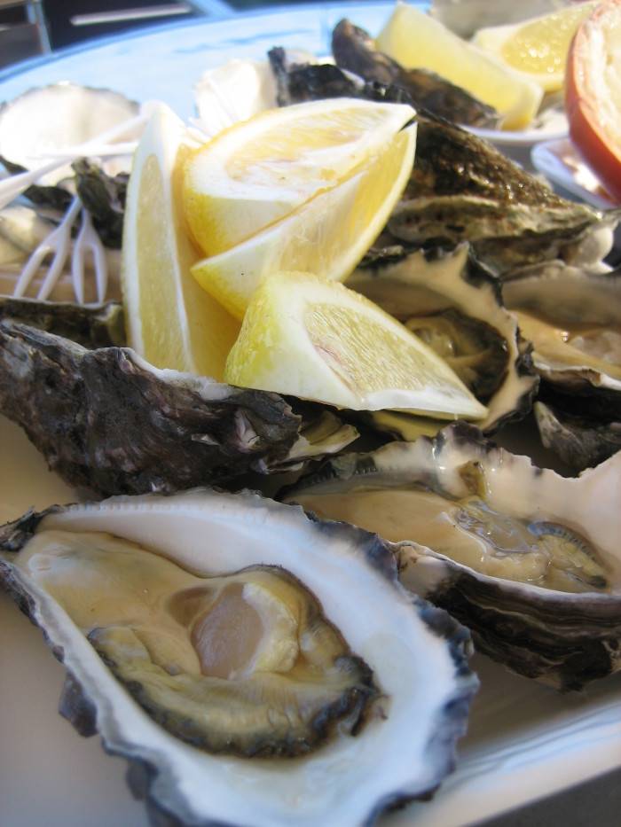 10. Raw Oysters
