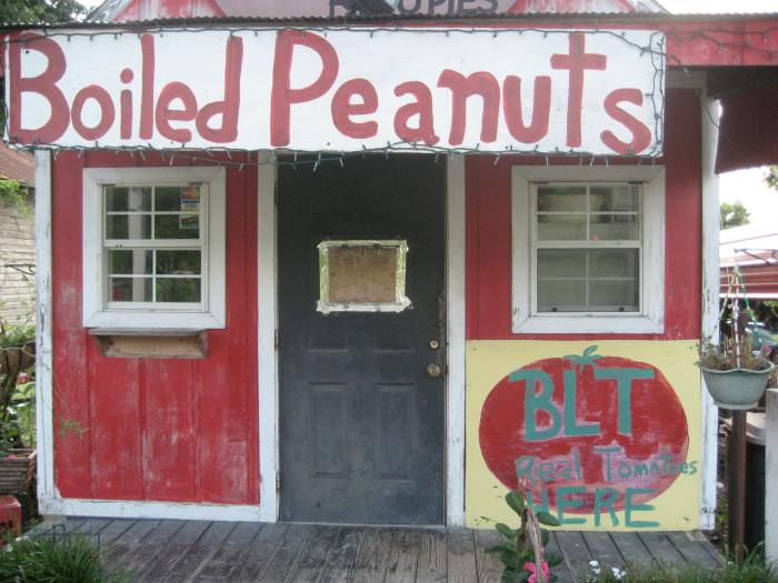 2. Boiled Peanuts