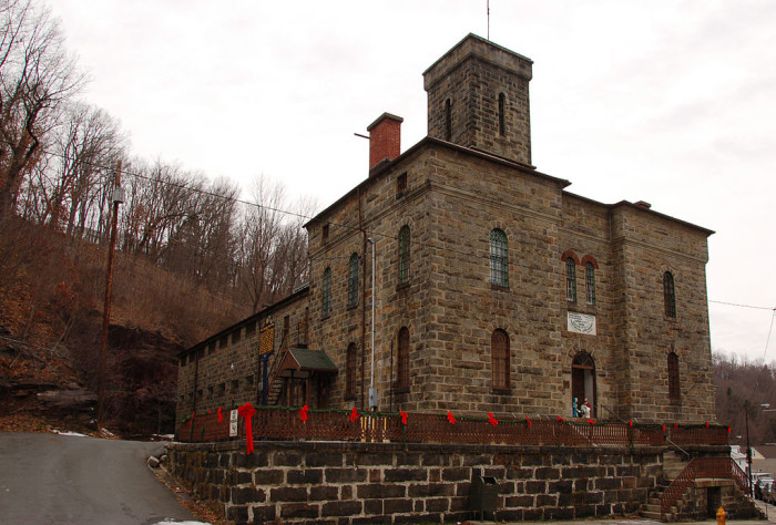 Carbon County Jail in Jim Thorpe.