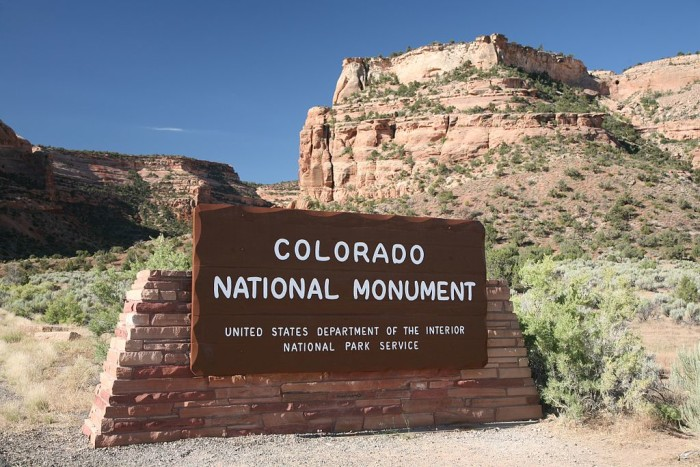 N is for (Colorado) National Monument.