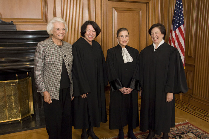 O is for (Sandra Day) O'Connor.