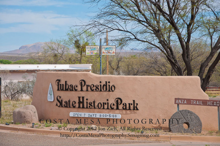 T is for Tubac.