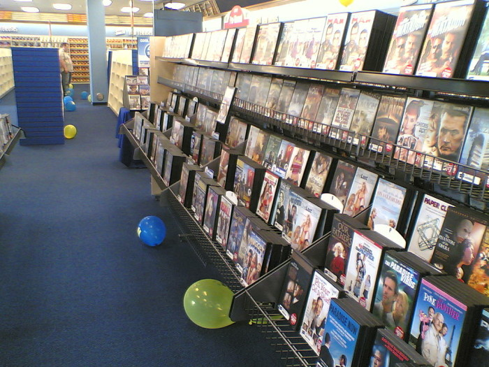 8. …video rental stores…