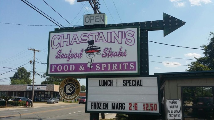 7. Chastain's in Lake Charles