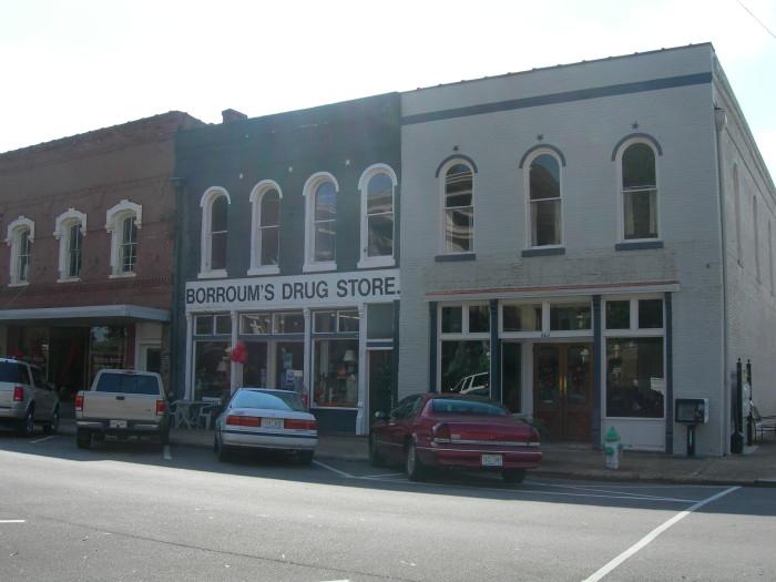 10. Grab a bite to eat at Borroum's Drug Store.