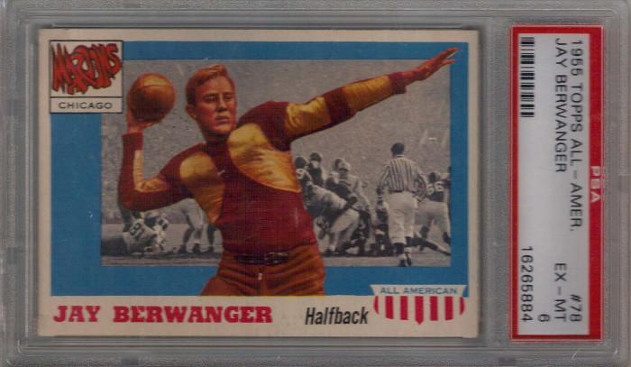 10. The first winner of the Heisman Trophy, Jay Berwanger, was born in Dubuque in 1914.