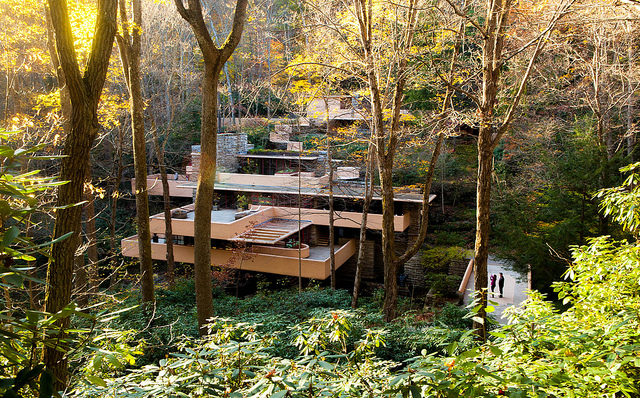 5. We have tons of awesome tucked away treasures, such as Fallingwater, which is one of Frank Lloyd Wright's most beloved architectural masterpieces.