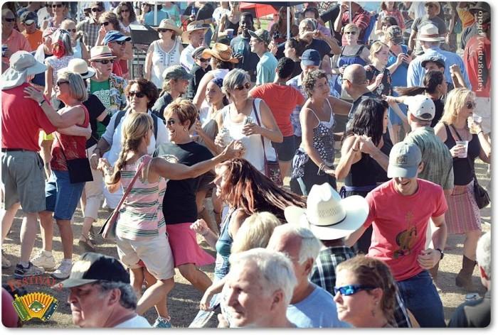 9. Dancing at Festival Des Acadiens