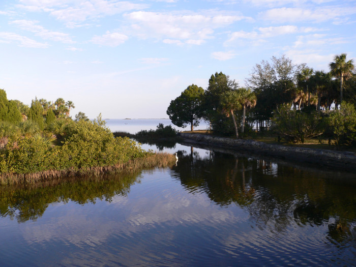 8. Visit Florida's largest island to try your luck on a giant treasure hunt.
