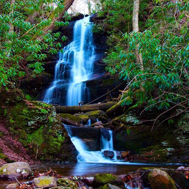 3. Silver Spray Falls, Walpack Township