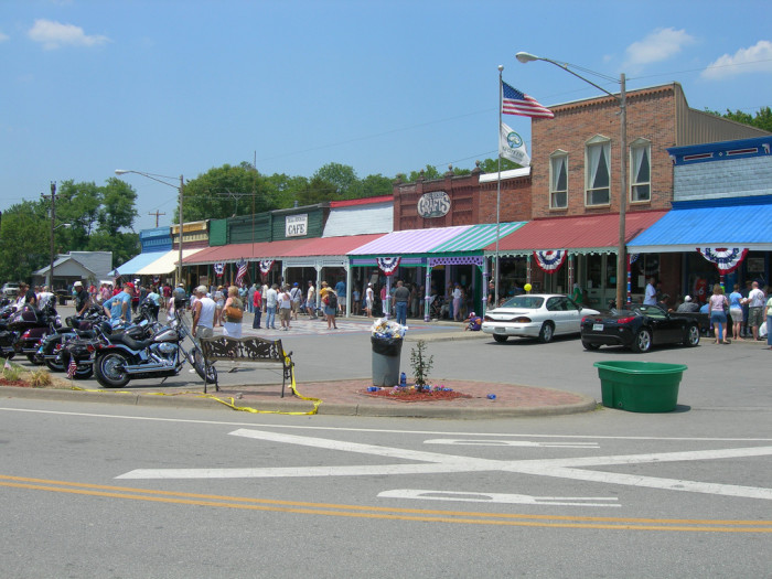 11) Take a trip to small town Tennessee