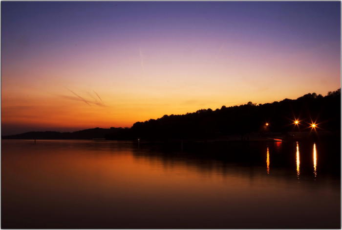 11) Those gorgeous sunset colors